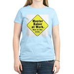 Master Baker - Bun in the Oven Women's Pink T-Shir