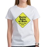 Master Baker - Bun in the Oven Women's T-Shirt
