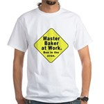 Master Baker - Bun in the Oven White T-Shirt