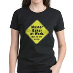 Master Baker - Bun in the Oven Women's Dark T-Shir