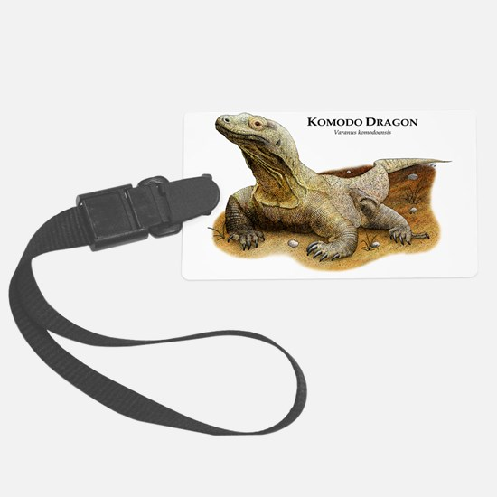 Komodo Dragon Luggage Tag