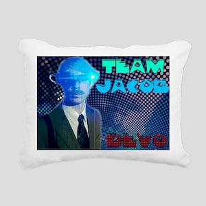 team jacob2 Rectangular Canvas Pillow