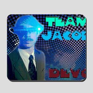 team jacob2 Mousepad