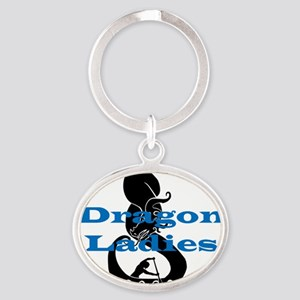 DL2 Oval Keychain