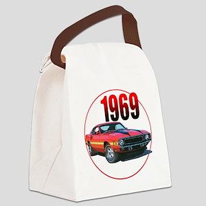 69GT500-C8trans Canvas Lunch Bag