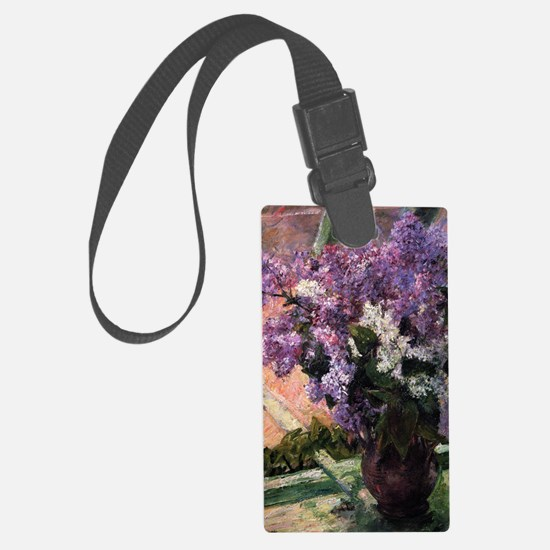 Lilacs Luggage Tag