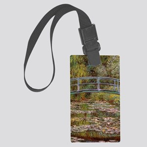 Water_Lilies Large Luggage Tag