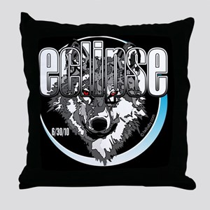 eclipse jacob wolf by twibaby Throw Pillow