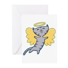 Cat Angel Greeting Cards (Pk of 10)