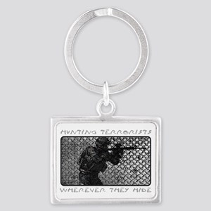 WHEREVER THEY HIDE Landscape Keychain