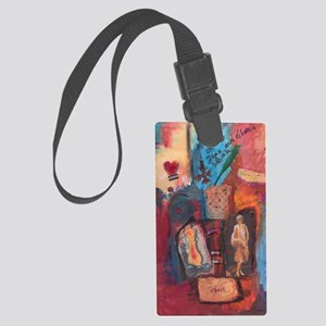 Chess_art  Large Luggage Tag