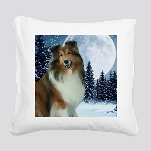 XmasGrace2010Mouse Square Canvas Pillow
