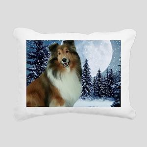 XmasGrace2010Mouse Rectangular Canvas Pillow
