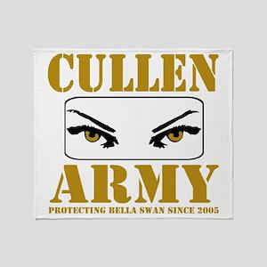 cullenarmy2 Throw Blanket