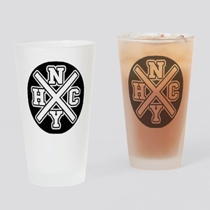 nyhcwhite Drinking Glass