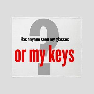 keys-newT_O-light Throw Blanket