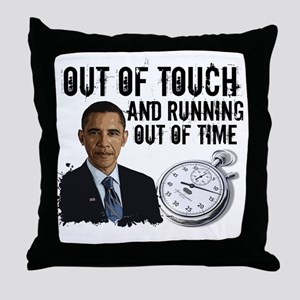 2-Out of Time Throw Pillow
