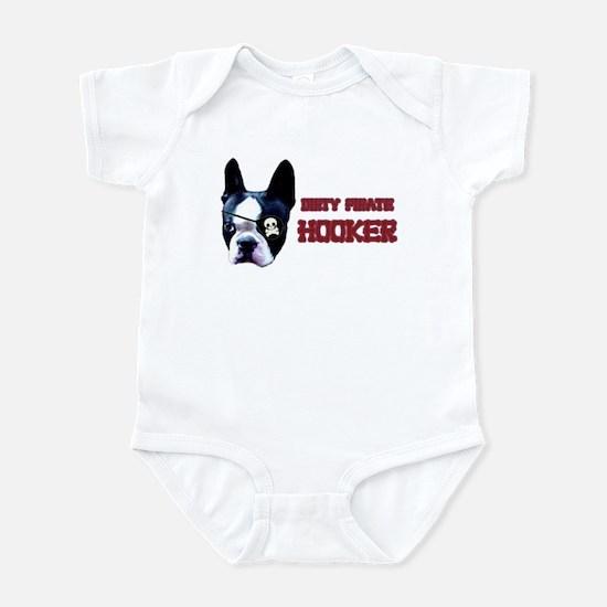 Dirty Pirate Hooker Infant Bodysuit