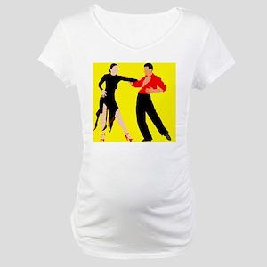 DWTS1 c-mouse light Maternity T-Shirt
