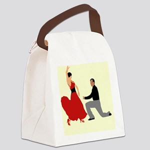 DWTS2 C-JOURNAL light Canvas Lunch Bag
