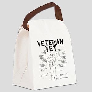veteranvetmaleuse Canvas Lunch Bag