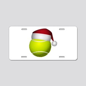 Christmas Tennis Ball with Aluminum License Plate