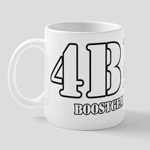 BoostGear - 4B11 Stencil T-Shirt - Dark Mug