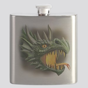 roaring dragon Flask