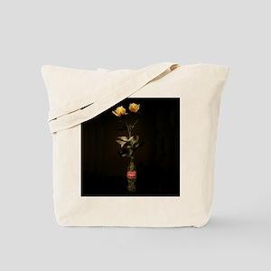 Yellow Roses Square 2 Tote Bag
