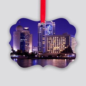 Dubai Creek Picture Ornament