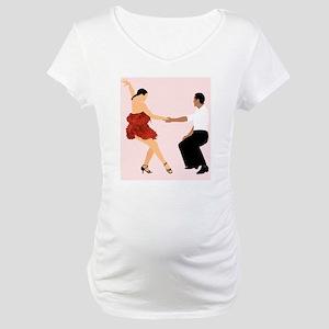 DWTS3 C-JOURNAL DARK Maternity T-Shirt