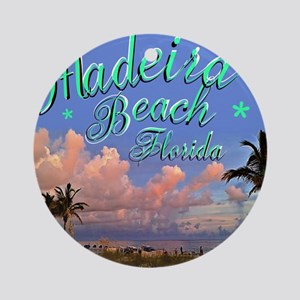 Madeira Beach Round Ornament