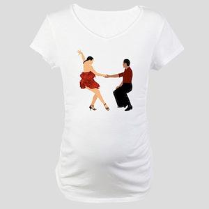 DWTS3 C-MOUSE light Maternity T-Shirt