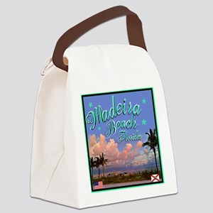 Madeira Beach Canvas Lunch Bag