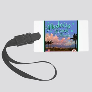 Madeira Beach Luggage Tag