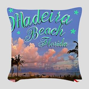 Madeira Beach Woven Throw Pillow
