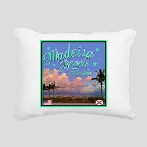 Madeira Beach Rectangular Canvas Pillow