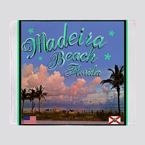 Madeira Beach Throw Blanket