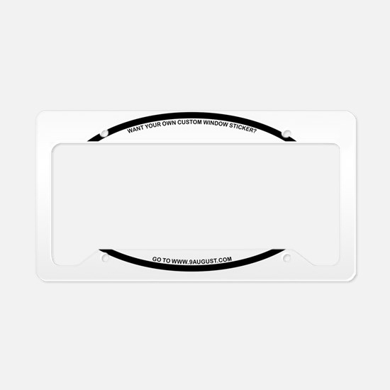 2-DRW License Plate Holder