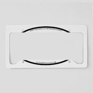 NCSU80 License Plate Holder