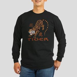 Tiger Year Long Sleeve Dark T-Shirt