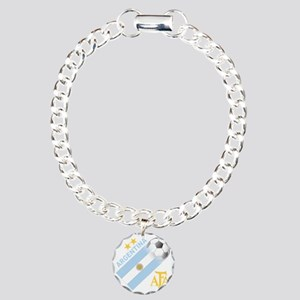 argentina aa Charm Bracelet, One Charm
