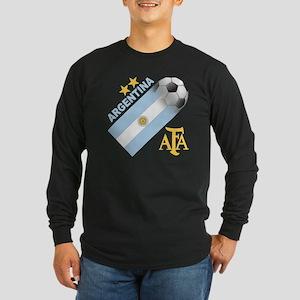 argentina aa Long Sleeve Dark T-Shirt