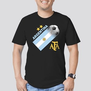 argentina aa Men's Fitted T-Shirt (dark)