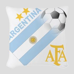 argentina aa Woven Throw Pillow