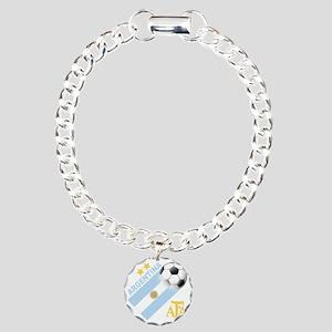 Argentina Charm Bracelet, One Charm