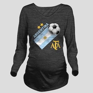 Argentina Long Sleeve Maternity T-Shirt