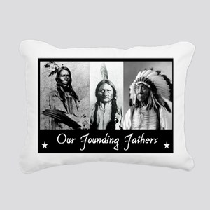 real founders Rectangular Canvas Pillow
