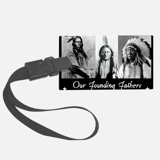 real founders Large Luggage Tag