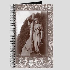 faith and the cross card Journal